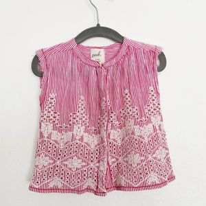 NWT Peek Embroidered Shirt